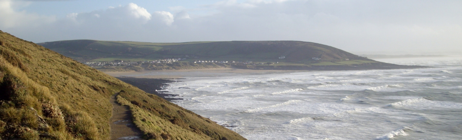 Croyde Bay from Baggy Point