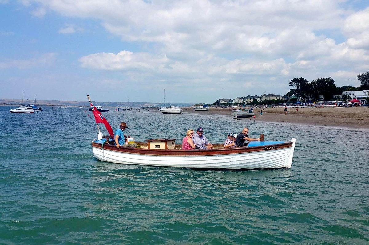 Take a trip with Tims Boat at Instow