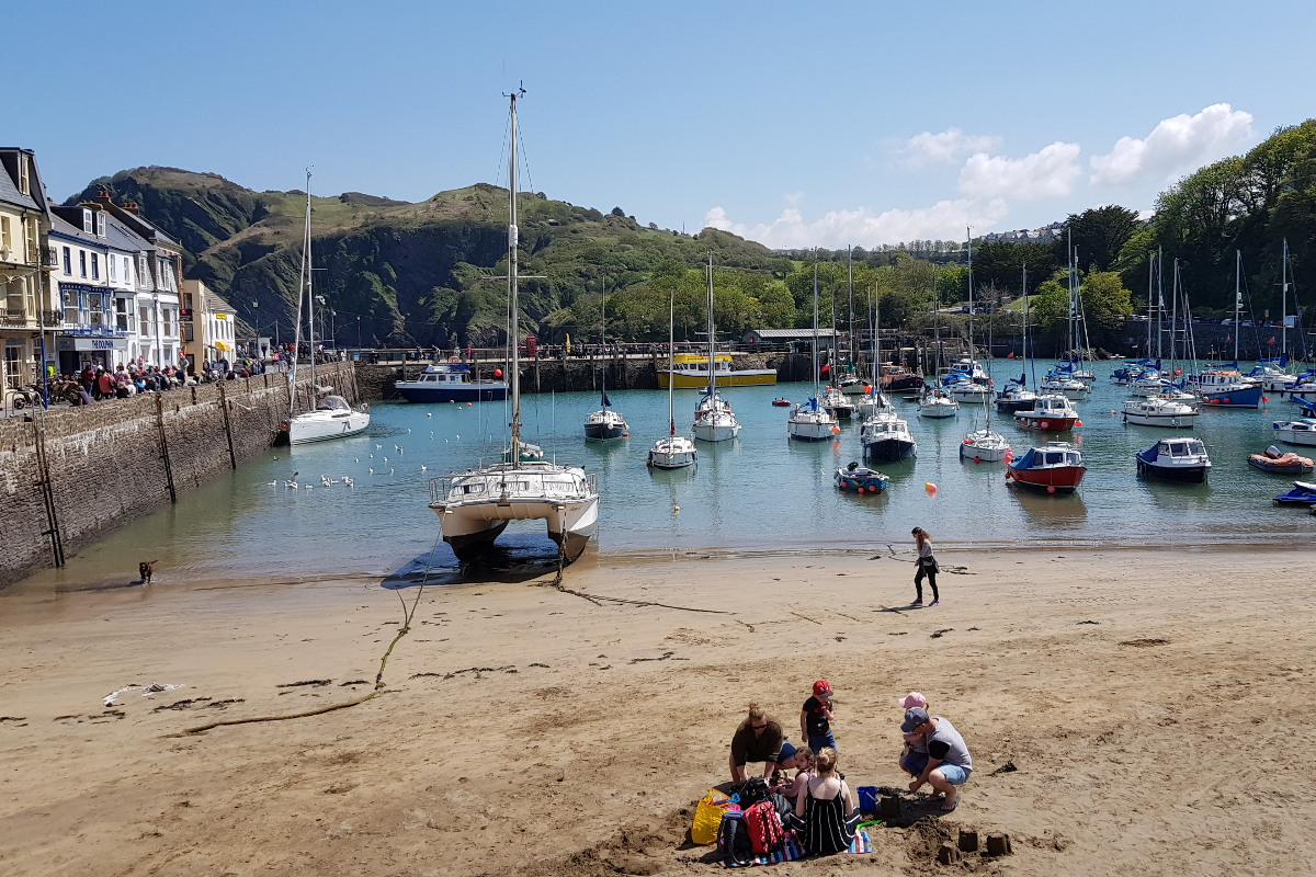 Ilfracombe Harbour near Instow