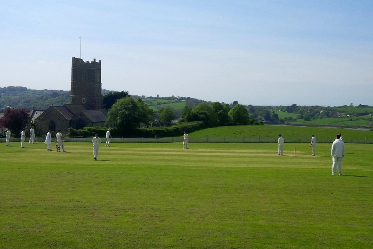 Cricket at Westleigh village